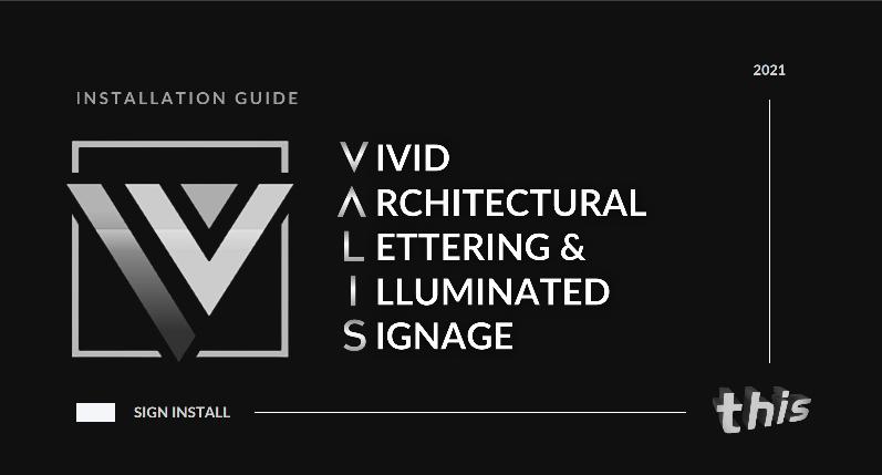 Valis Installation guide